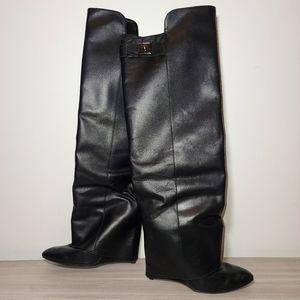 Enzo Angiolini Eadamus Leather Knee High Boot